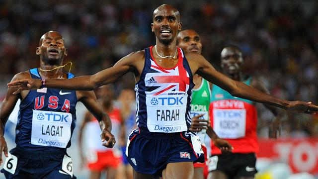 Brilliant Farah wins 5000m gold