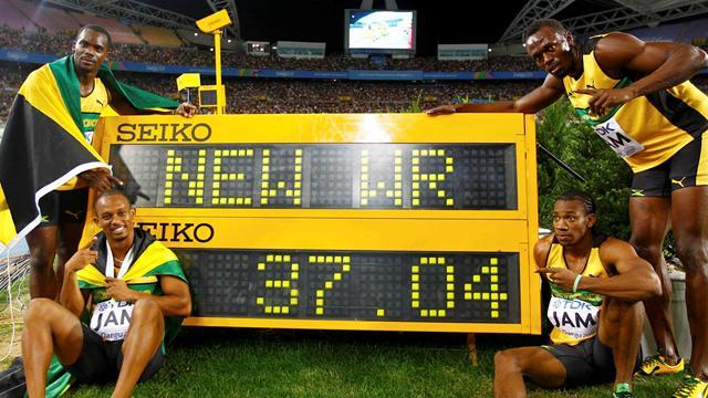 И напоследок мировой рекорд от Болта