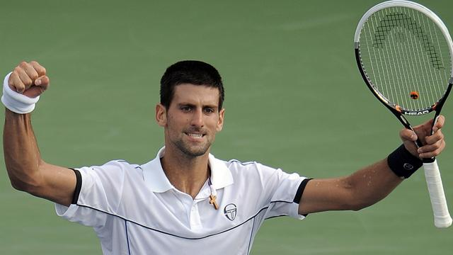 Djokovic, première frayeur