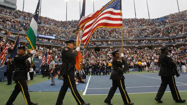 US Open pays 9/11 tribute