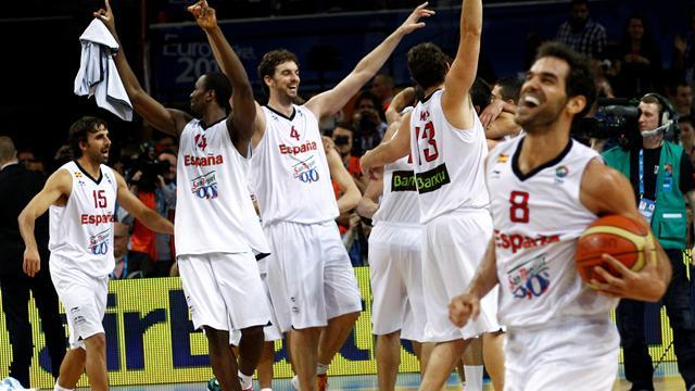 Spain defend Eurobasket title
