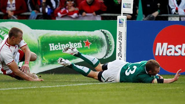 Ireland cruise to comfortable win