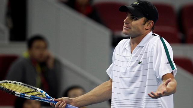 Roddick storms out after China shock