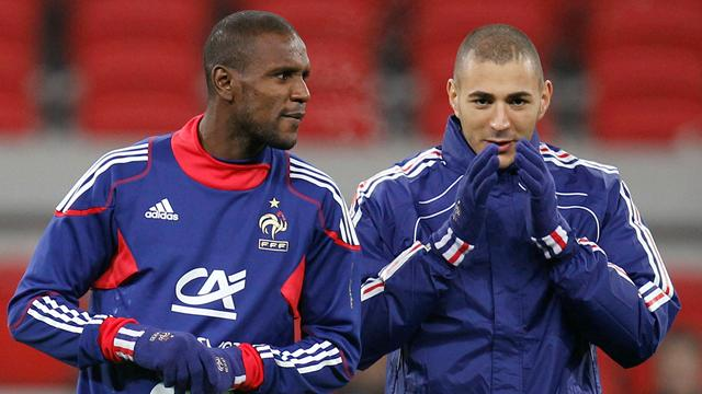 Abidal, Benzema to miss France games