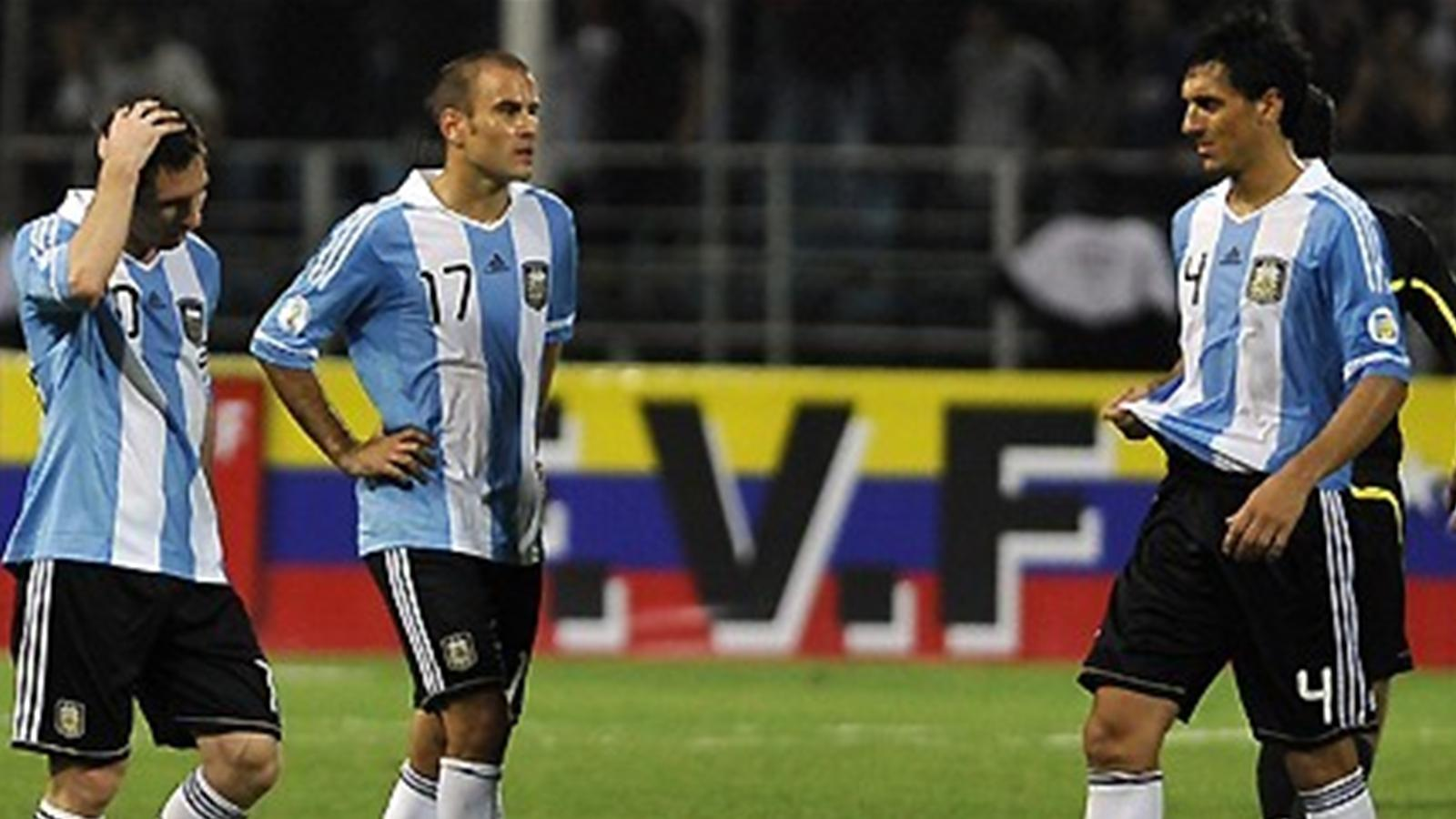 L 39 argentine tombe de haut qualif coupe du monde amsud - Classement qualification coupe du monde ...
