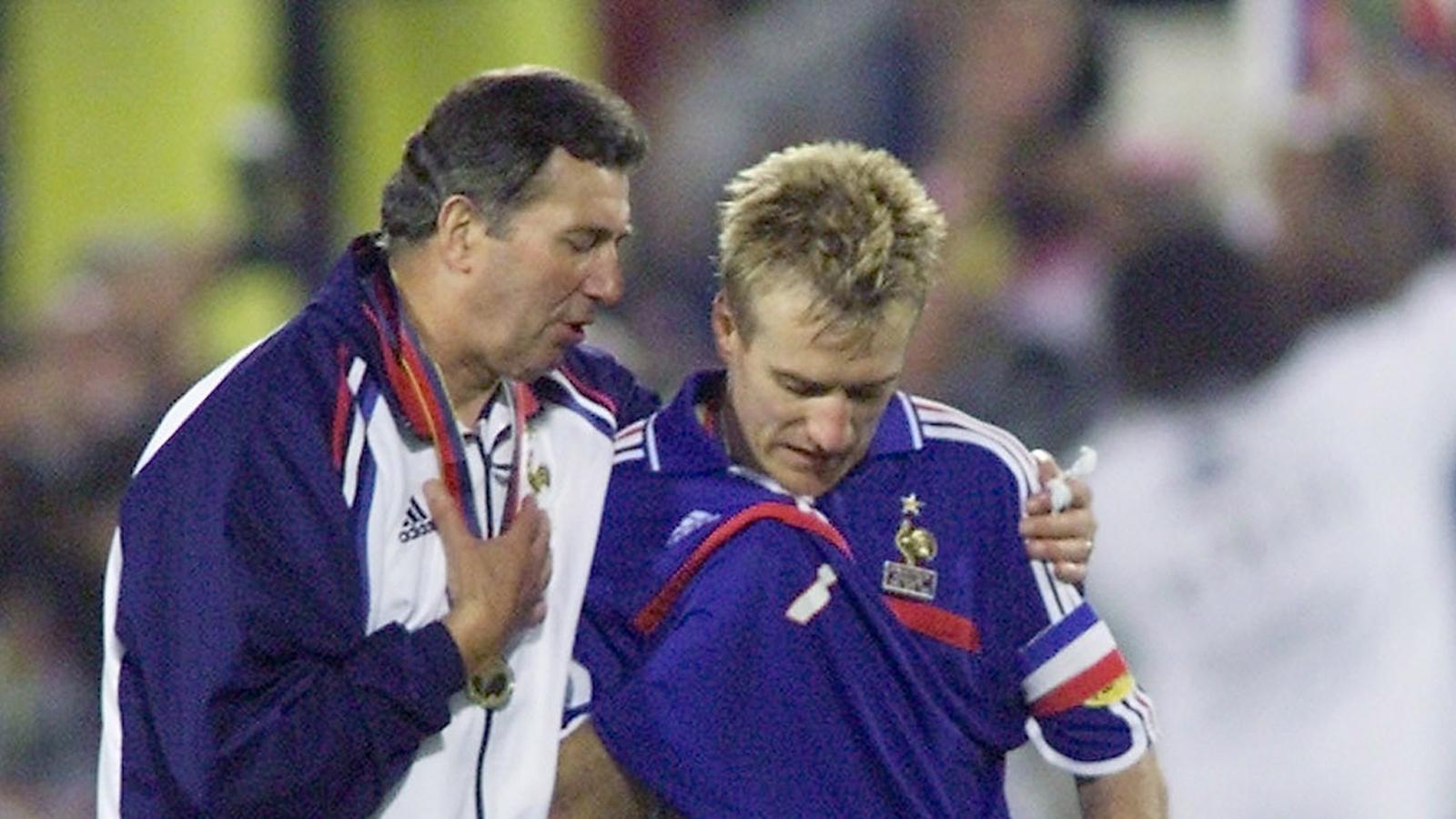 Roger Lemerre Didier Deschamps Euro 2000