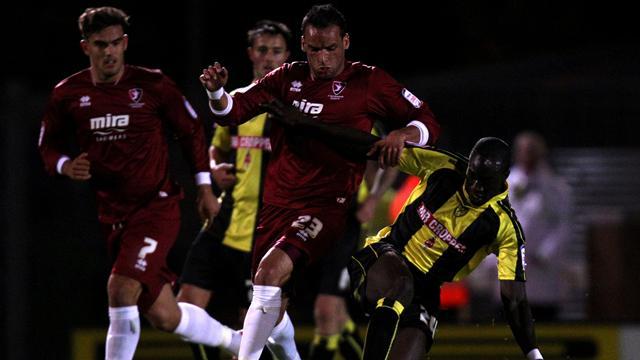 Win at Burton sends Cheltenham third