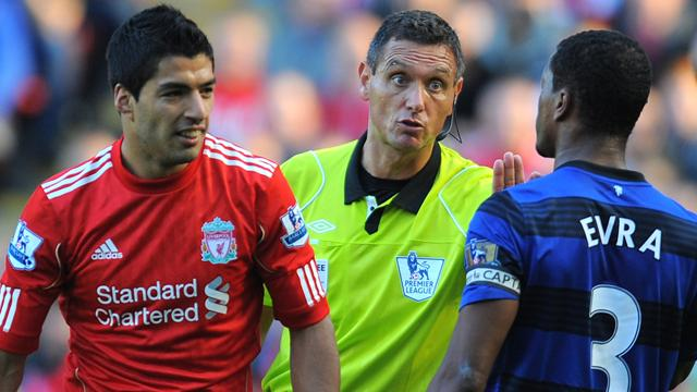 Suarez blames United for racism ban