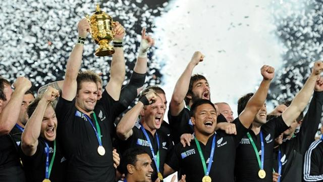 New Zealand win rugby World Cup