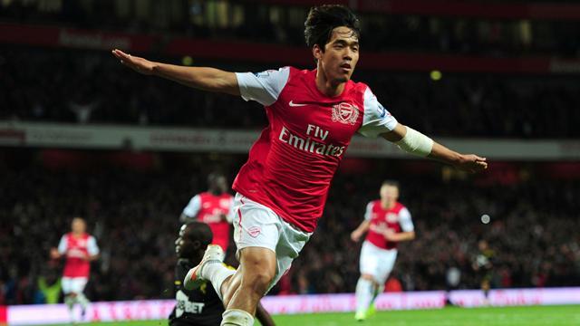 Park scores as Arsenal beat Bolton