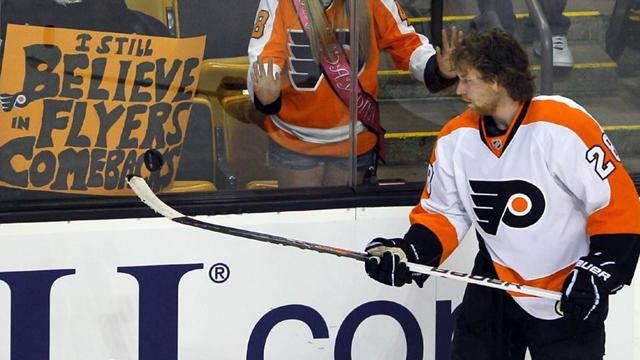 Top scorer Giroux out indefinitely