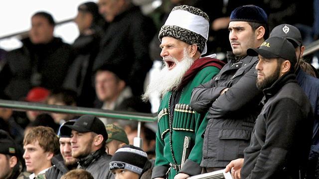 Судья Кадыров избил футболиста во время матча