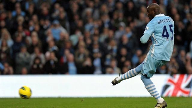 2011 Manchester City Mario Balotelli