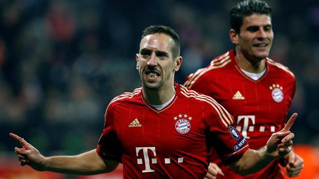 Ribery helps Bayern advance