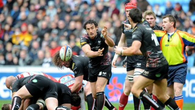 Ospreys join three-way tie at top