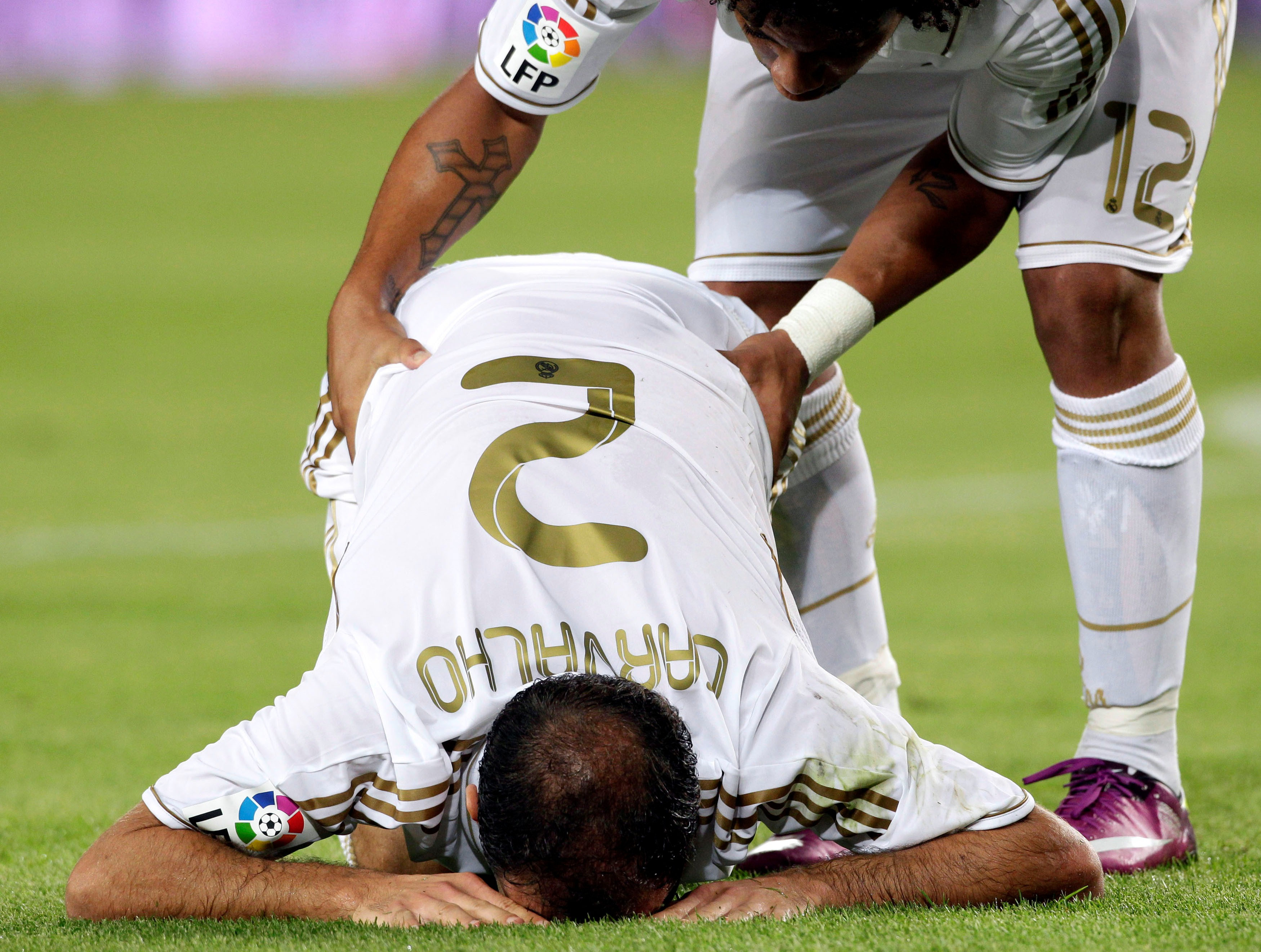 2011-12 La Liga Real Madrid Ricardo Carvalho