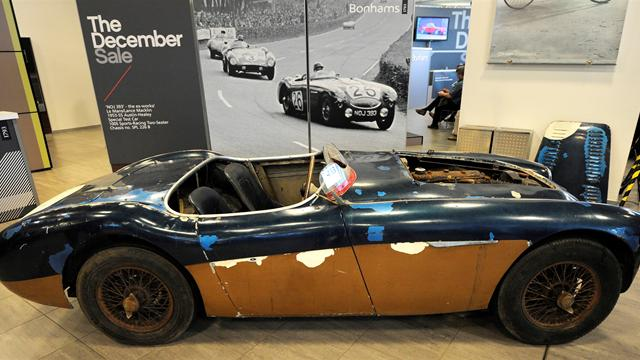 1955 Le Mans disaster car makes £840K
