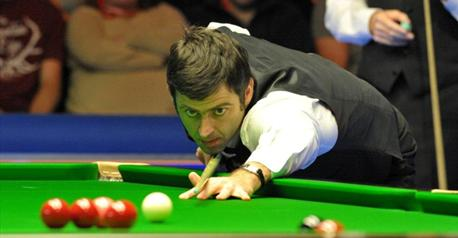 Snooker-Magical O'Sullivan hits two tons to reach last eight
