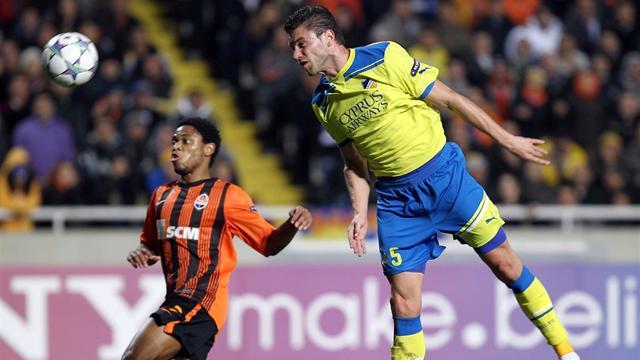 Shakhtar beat APOEL