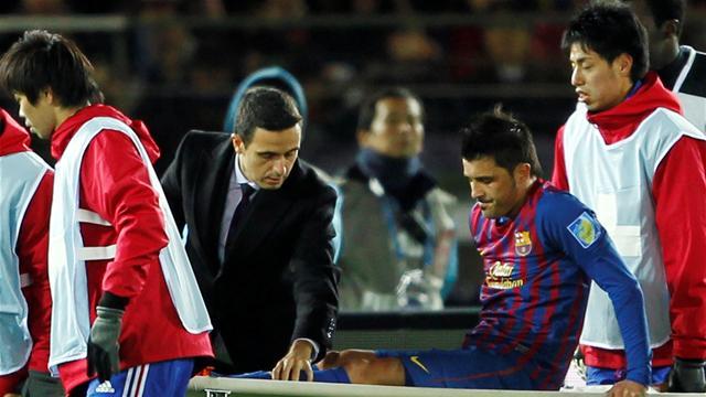 Spain striker Villa faces five months out