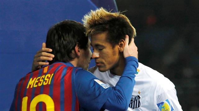 """Neymar est """"bienvenu au Barça"""""""