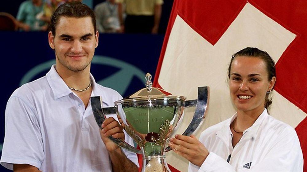 Tennis Federer Hingis
