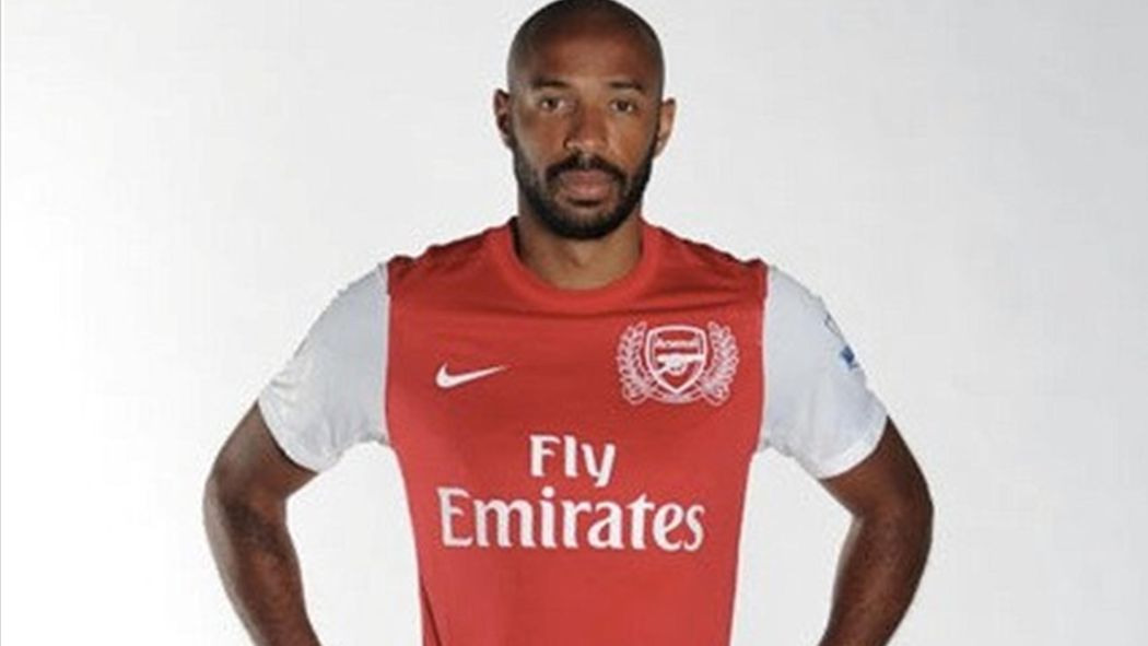 online retailer 937f5 1ba63 Arsenal sign Henry on loan - Premier League 2011-2012 ...