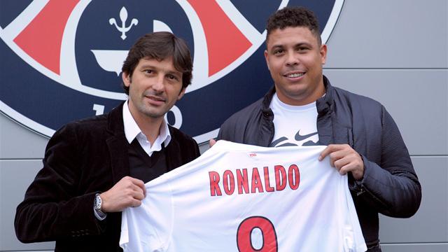 "Quand Ronaldo ""visite"" le PSG"