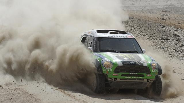 Cars: Peterhansel coasts to Dakar glory