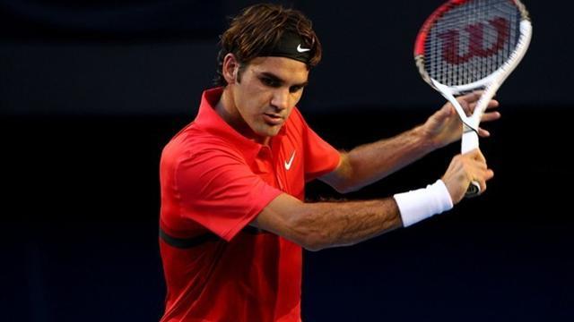Federer en maître d'école