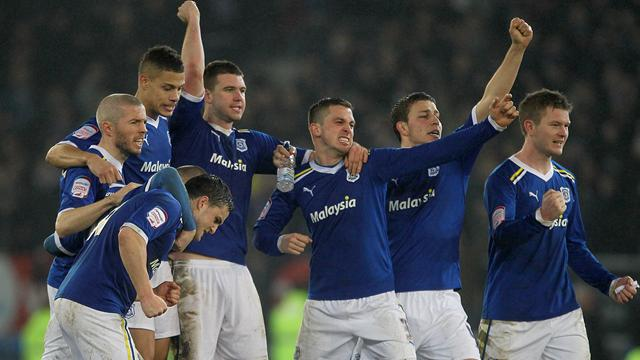 Cardiff 1-0 (agg 1-1, 3-1 pens) Crystal Palace