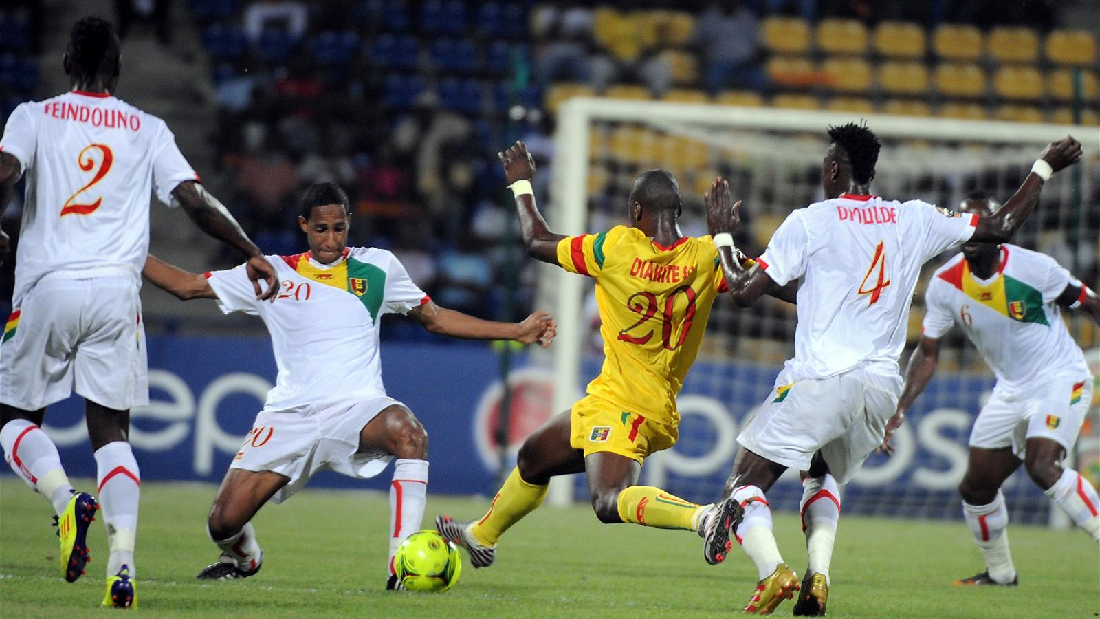Le mali douche la guin e coupe d 39 afrique des nations - Regarder la coupe d afrique en direct ...