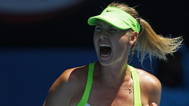 Sharapova sets up Kvitova showdown