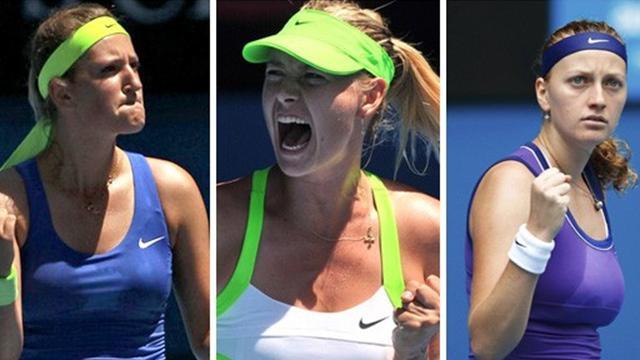"""Sharapova à la tête du """"Big Three"""""""