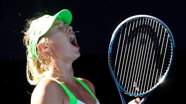 Sharapova revoit la lumière
