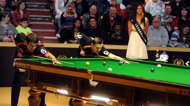 Šutaut snuker turnir na Eurosportu