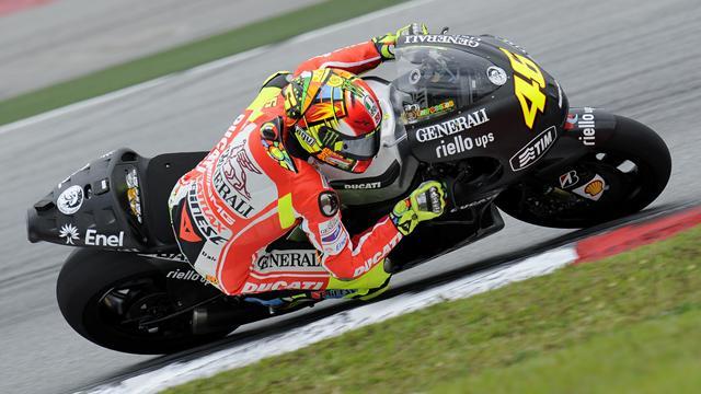 """Rossi : """"J'aime la Ducati"""""""