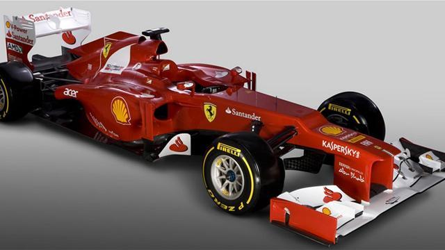 Ferrari lance la F2012