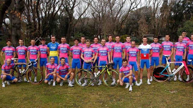 Lampre-ISD name climber-heavy Vuelta squad