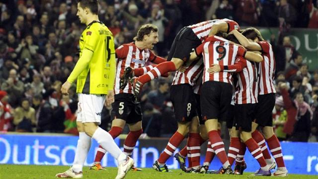 Athletic crush Mirandes to reach Copa final