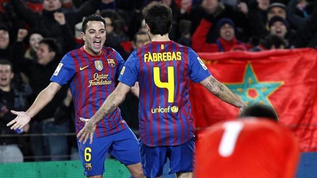 Xavi Fabregas Barcelona Valencia