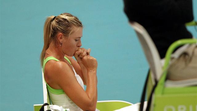 Sharapova prend la porte