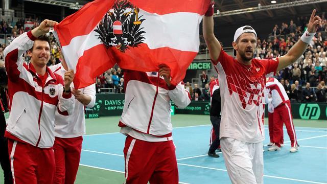 Austria reach Davis Cup quarters
