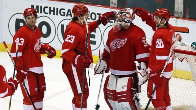 Red Wings make play-offs once again
