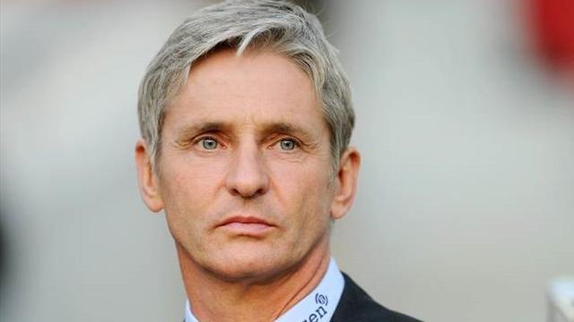José Riga, limogé de son poste d'entraîneur du FC Metz