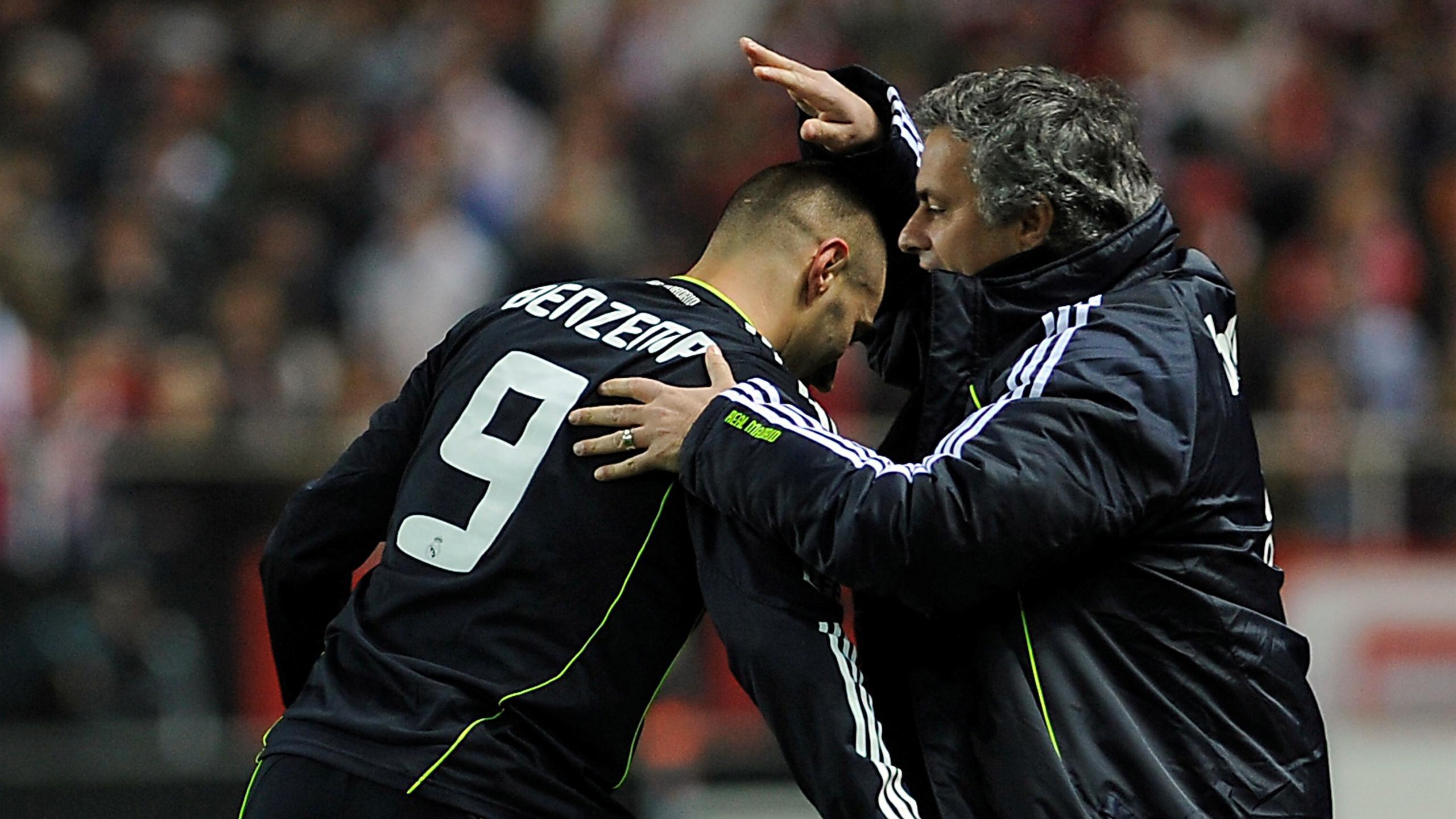 Mourinho Benzema Real Madrid