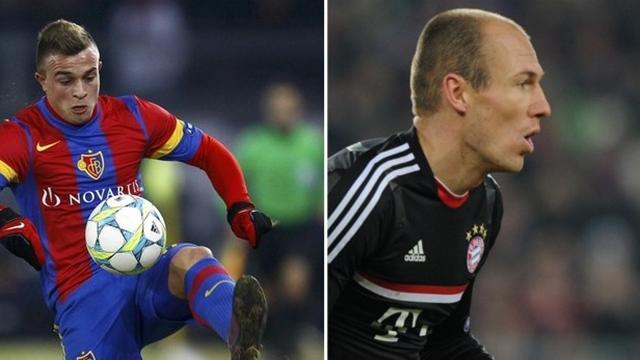 Shaqiri - Robben : 1-0