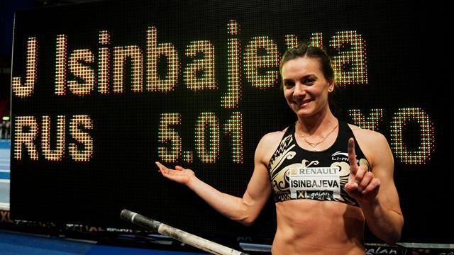 28-й рекорд Исинбаевой