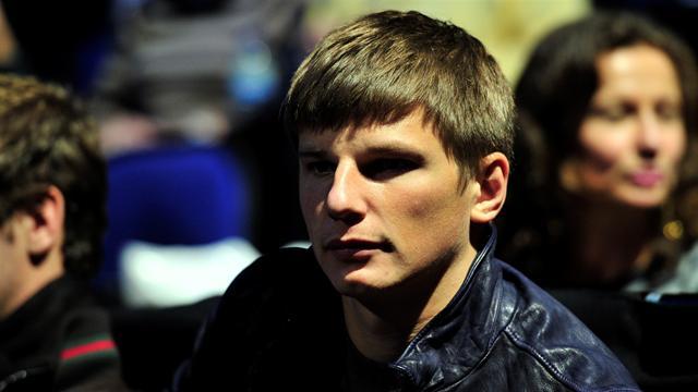 Аршавин прибыл в Санкт-Петербург