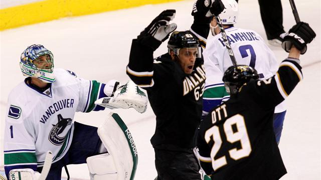 Stars enjoy comeback win over Canucks